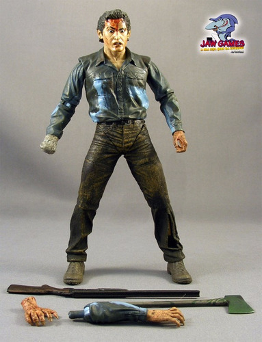 boneco action figure - evil dead 2 - farewell to arms
