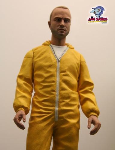 boneco action figure - jesse pinkman - breaking bad - mezco