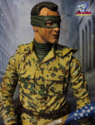 boneco action figure - kick ass 2 - colonel stars e stripes