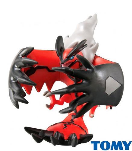 boneco action figure pokemon trainer choice yveltal  tomy