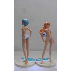 Boneco Action Figure Rei & Asuka - Biquini / Evangelion
