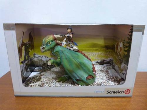 boneco alemao schleich 70447 kishay dragao medieval castelo