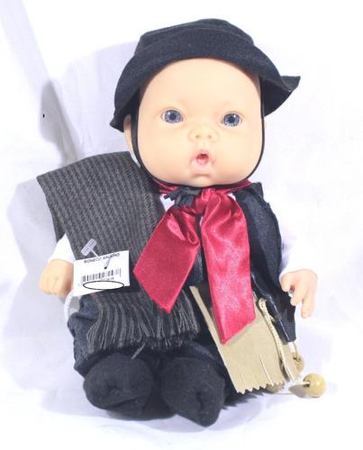 boneco artesanal de gaúcho