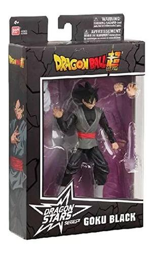 boneco articulado dragon ball super c peca colec goku black