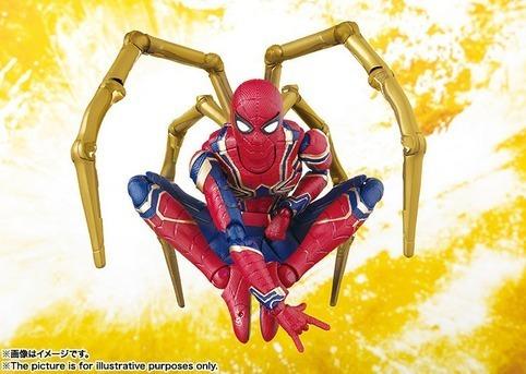 boneco articulado homem aranha de fero lar vingadores marvel