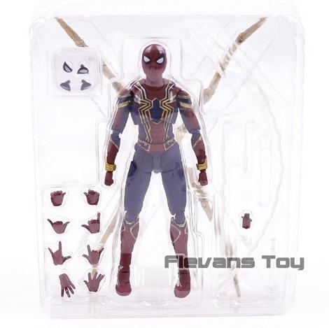 boneco articulado homem aranha de ferro vingadores volta lar
