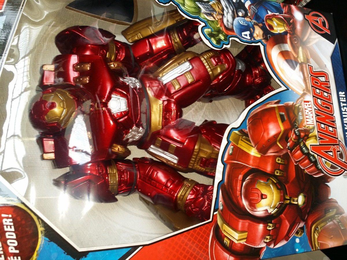 07a0768789 boneco avengers marvel hulkbuster gigante 50 cm mimo 0478. Carregando zoom.