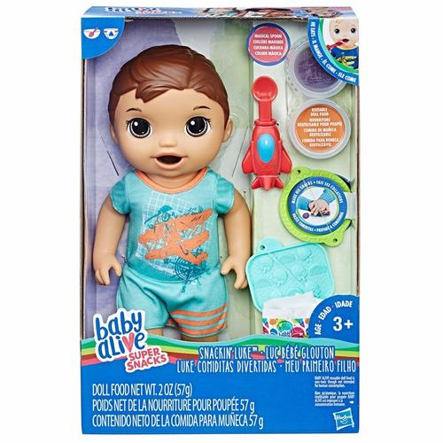 boneco baby alive - 30 cm - moreno - meu primeiro filho