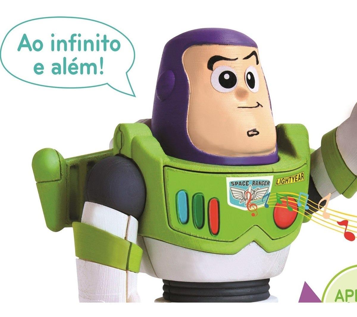 Boneco Buzz Lightyear Toy Story 4 Frases Elka Filme 2020