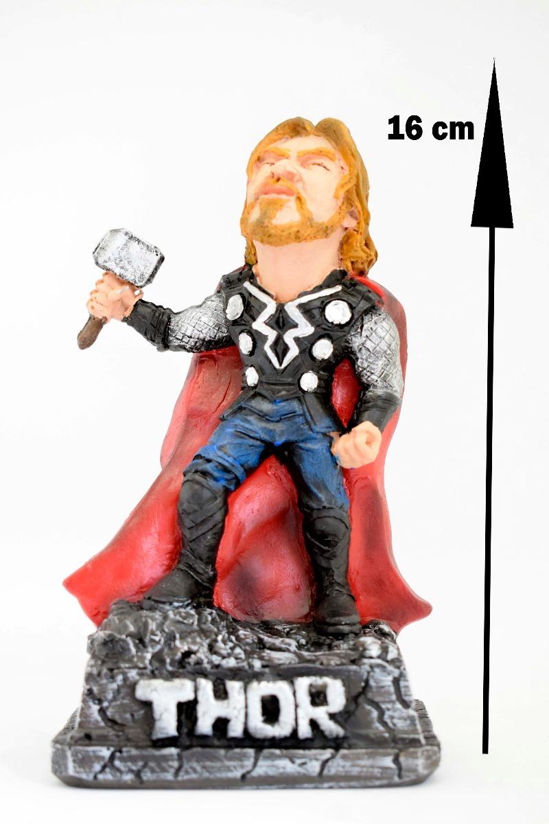 Boneco Caricatura Thor Feito Em Resina R 4000 Em Mercado Livre