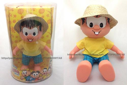 boneco chico bento original multibrink turma da mônica