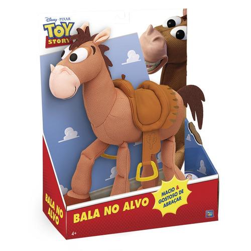 boneco colecionável - disney - toy story - cavalo bala no al