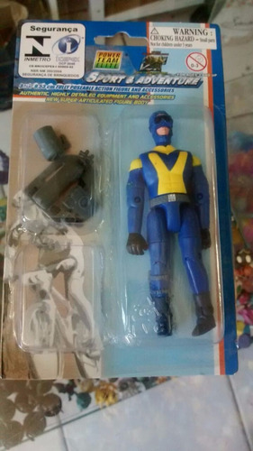 boneco coleção power team elite sport & adventure #4