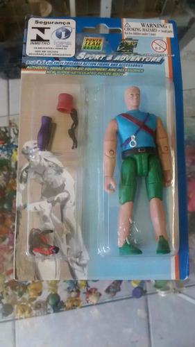 boneco coleção power team elite sport & adventure #5