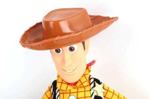 boneco de pano woody toy story 43cm que fala + frete grátis
