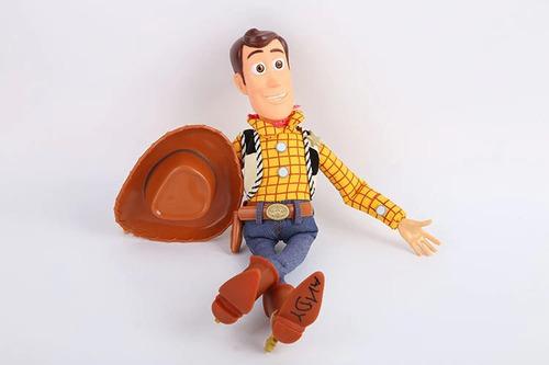 boneco de pano woody toy story 43cm que fala por menor preço