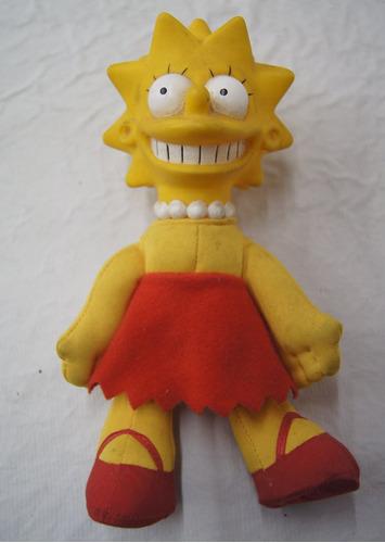 boneco de pelúcia lisa simpson