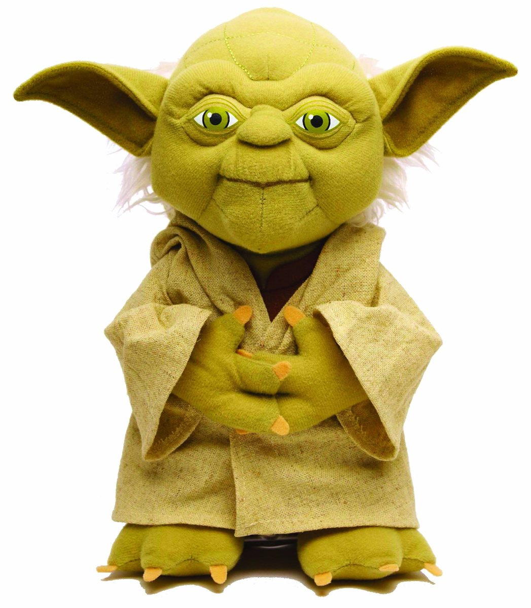 Aparador Sala De Jantar Moderno ~ Boneco De Pelúcia Mestre Yoda Star Wars Guerra Nas Estrelas R$ 89,90 em Mercado Livre