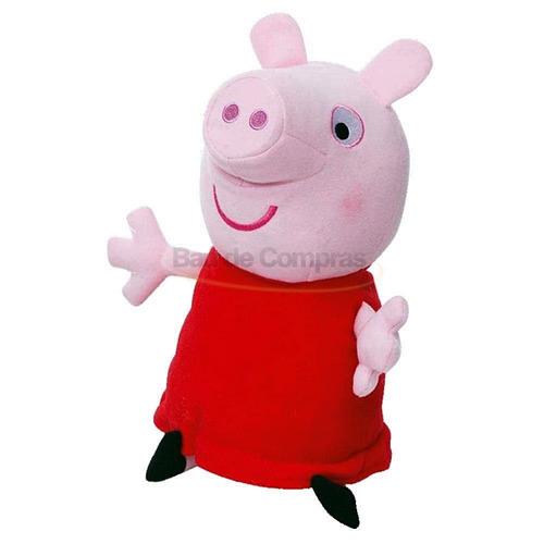 boneco de pelúcia peppa pig antialérgica - original