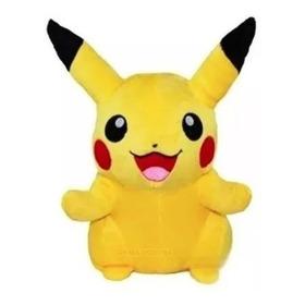 Boneco De Pelúcia Pikachu Pokemon Go Amarelo 29 Cm
