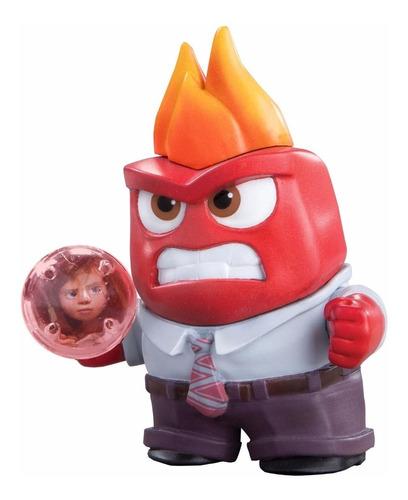 boneco de vinil divertida mente inside out - raiva