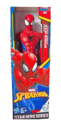 boneco do homem aranha titan hero blindado - hasbro