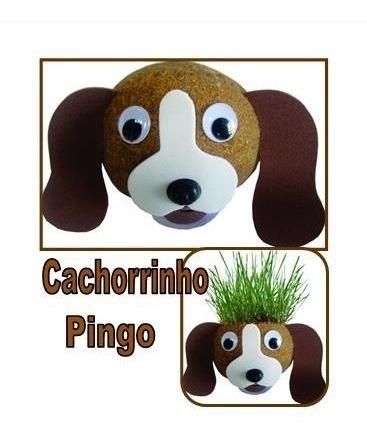 boneco ecológico cachorrinho - combo 30 un