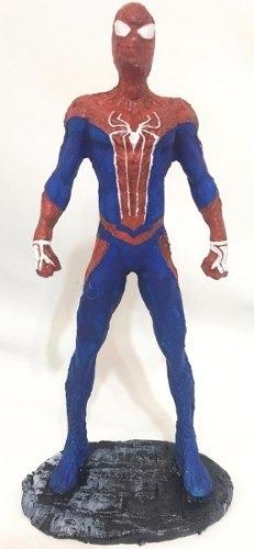 Boneco Estátua Em Resina Spider Man Ps4 Homem Aranha Coleção