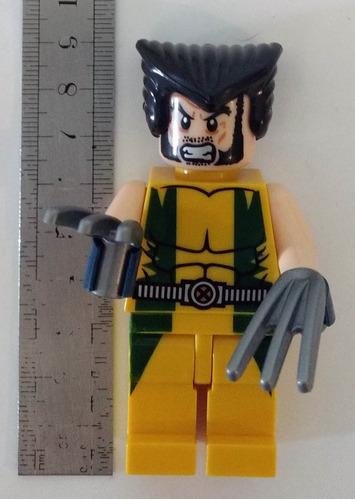 boneco estilo lego wolverine