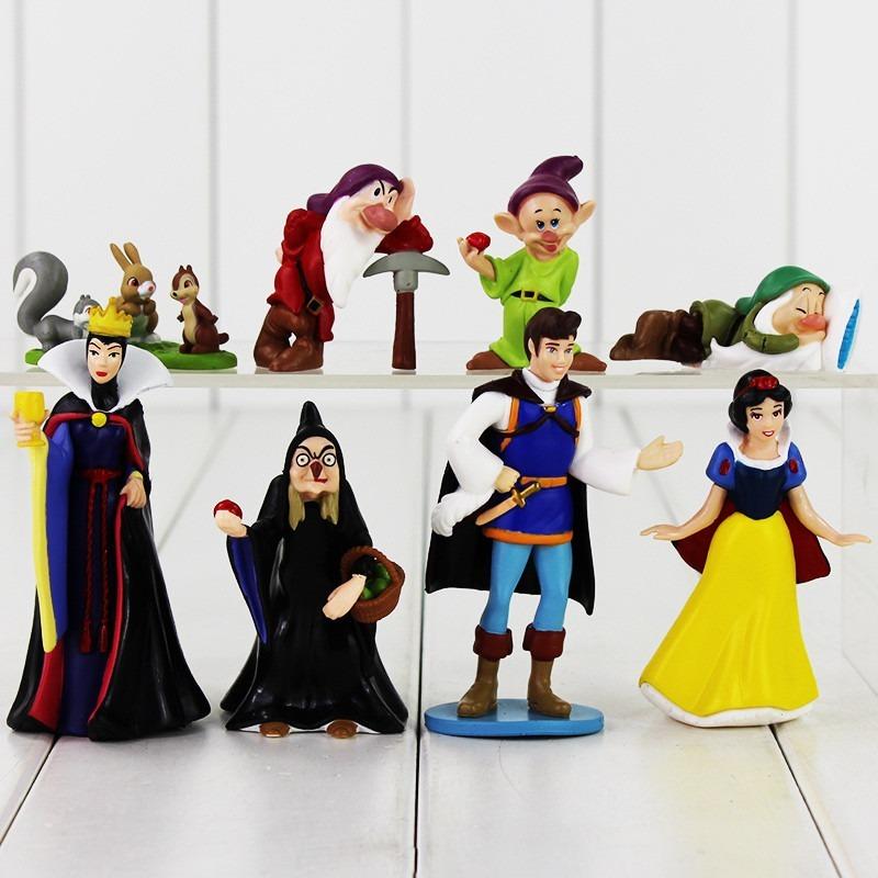 Boneco Figuras Branca De Neve 8 Pecas Disney R 64 66 Em Mercado