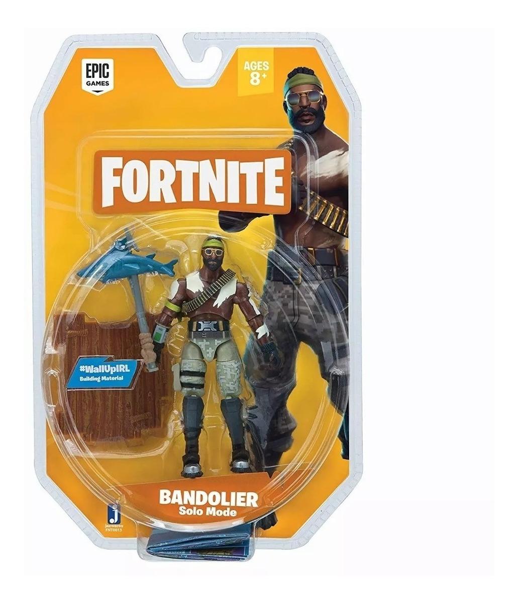 Boneco Fortnite Bandolier Articulado Epic Games Original
