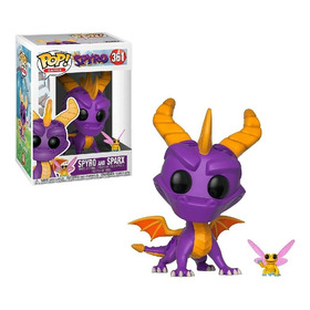 Boneco Funko Pop - Spyro, The Dragon - Spyro And Spark 361
