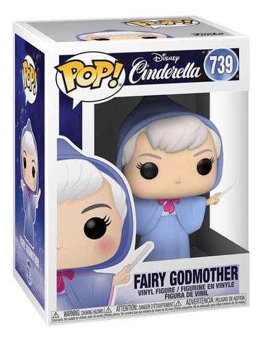 boneco funko pop disney cinderella fada fairy godmother 739