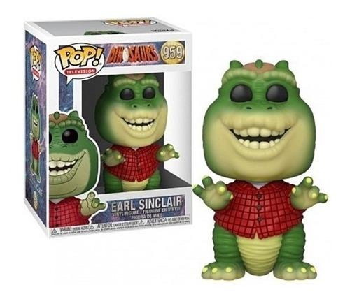 boneco funko pop earl sinclair 959 familia dinossauro baby