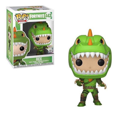 boneco funko pop - fortnite rex 443