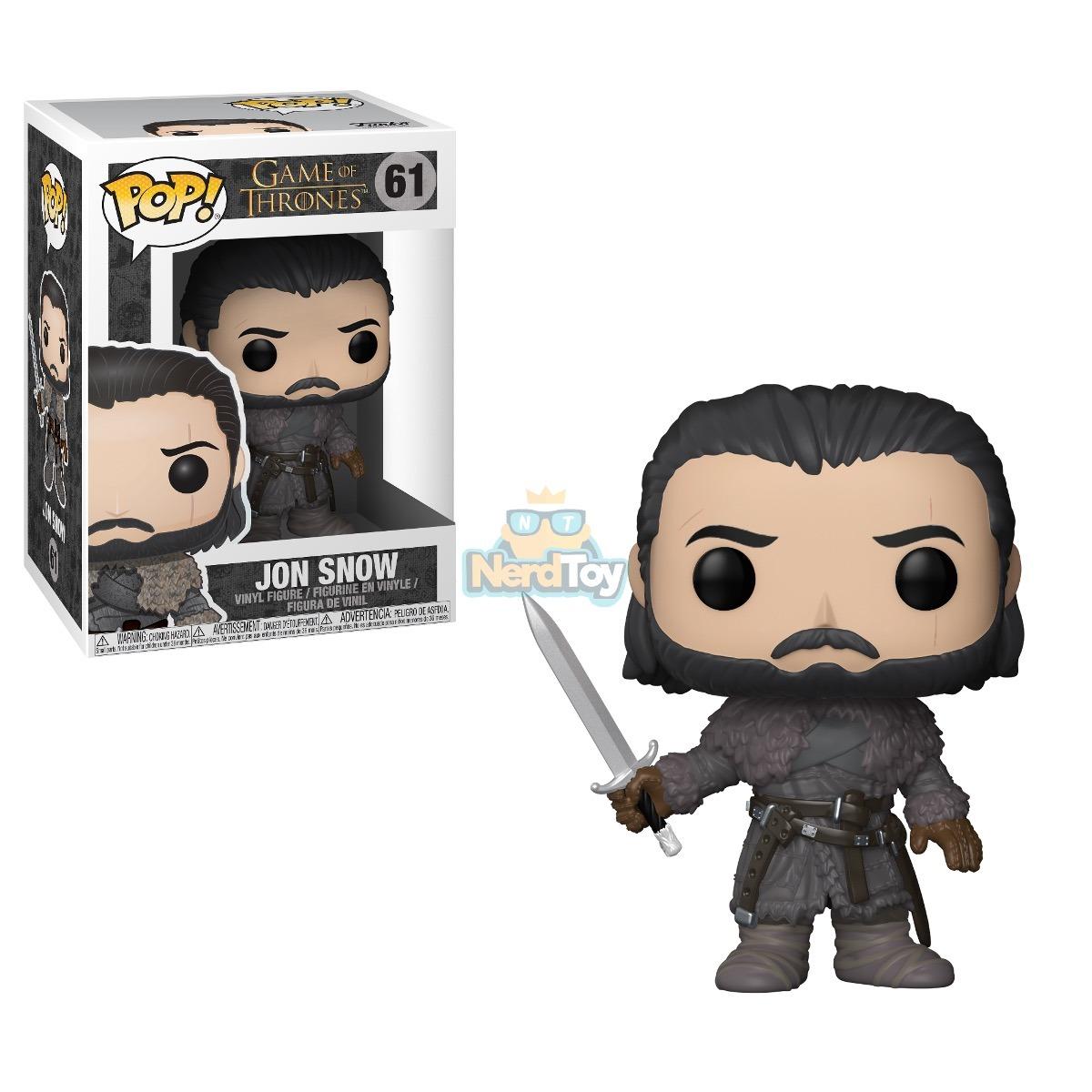 Boneco Funko Pop Game Of Thrones Jon Snow 61