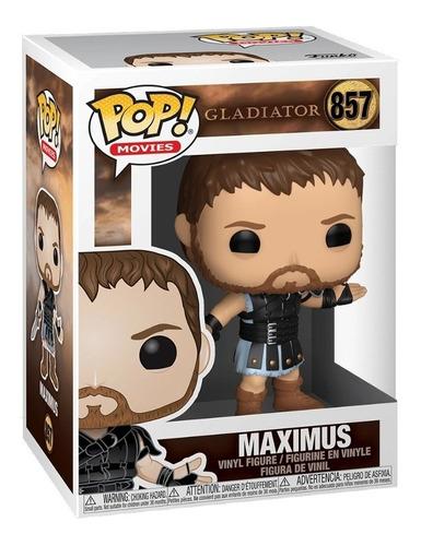 boneco funko pop gladiator gladiador maximus 857
