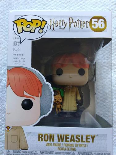 boneco funko pop harry potter ron weasley 56 promoção