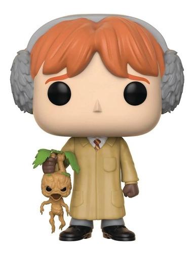 boneco funko pop harry potter ron weasley herbology 56