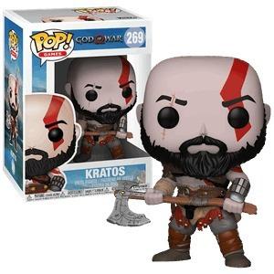 boneco funko pop kratos #269 original god of war novo