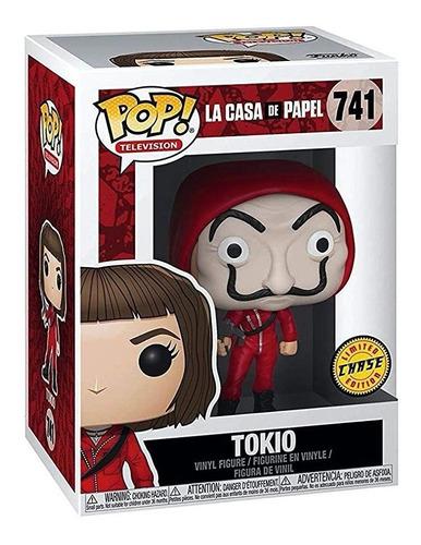 boneco funko pop la casa de papel tokio máscara dali 741