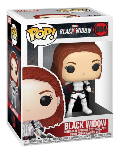 boneco funko pop marvel black widow viuva negra 604