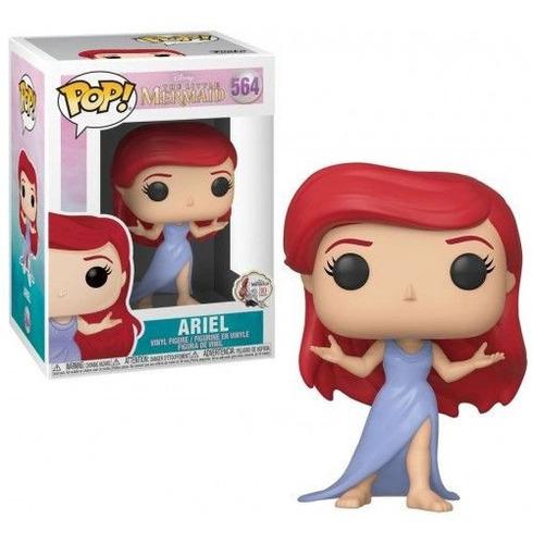 boneco funko pop! pequena sereia mermaid ariel 564 original