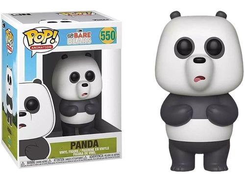 boneco funko pop we bare bears - panda 550