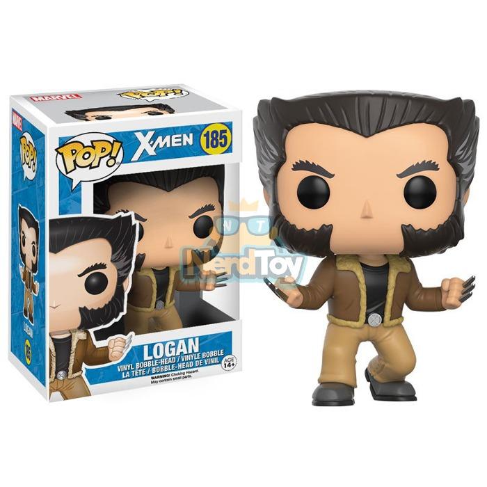 Boneco Funko Pop X-men - Logan Wolverine 185 - R  116 73b33b84ed0