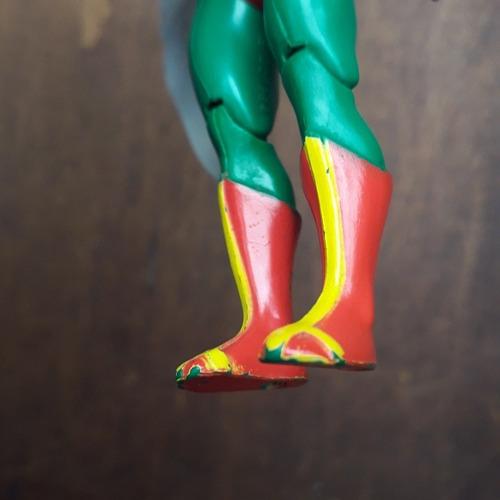 boneco gavião negro super powers anos 80 estrela