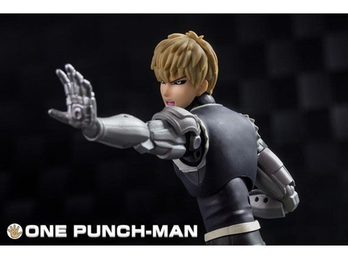 boneco genos one punch man dasin model original saitama