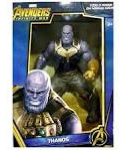 boneco gigante avengers - thanos