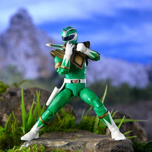 boneco green ranger lightning collection verde power rangers