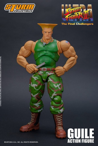 boneco guile street fighter storm collectibles 1/12 ryu ken